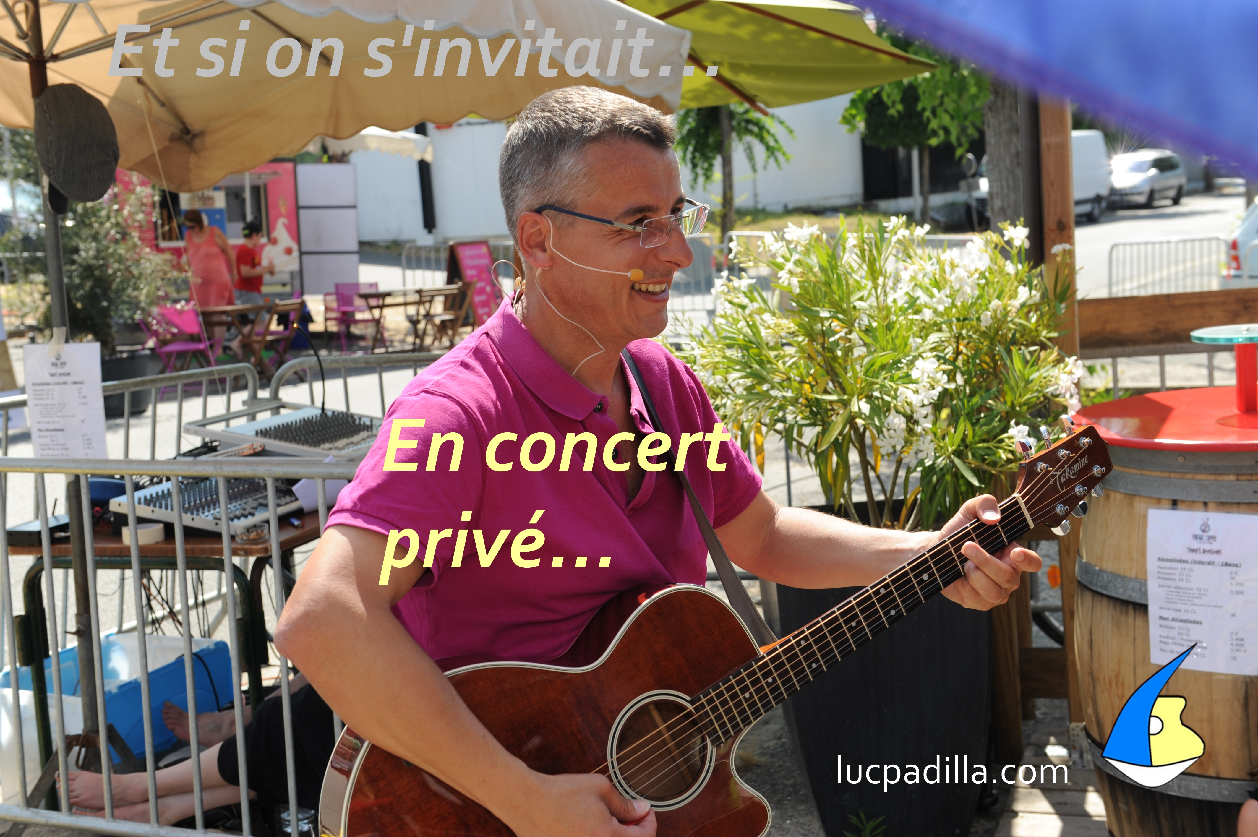 concert privé Luc Padilla