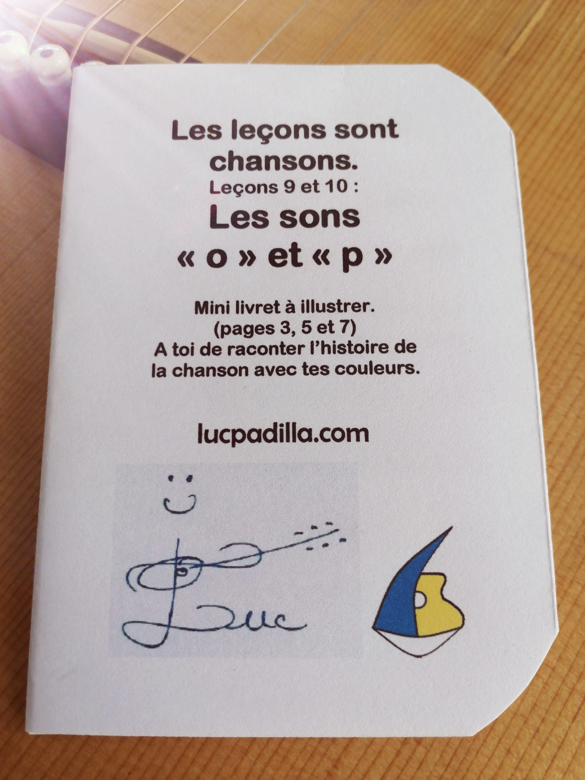 """Les leçons 9 et 10 Les sons """"o"""" et """"p"""""""