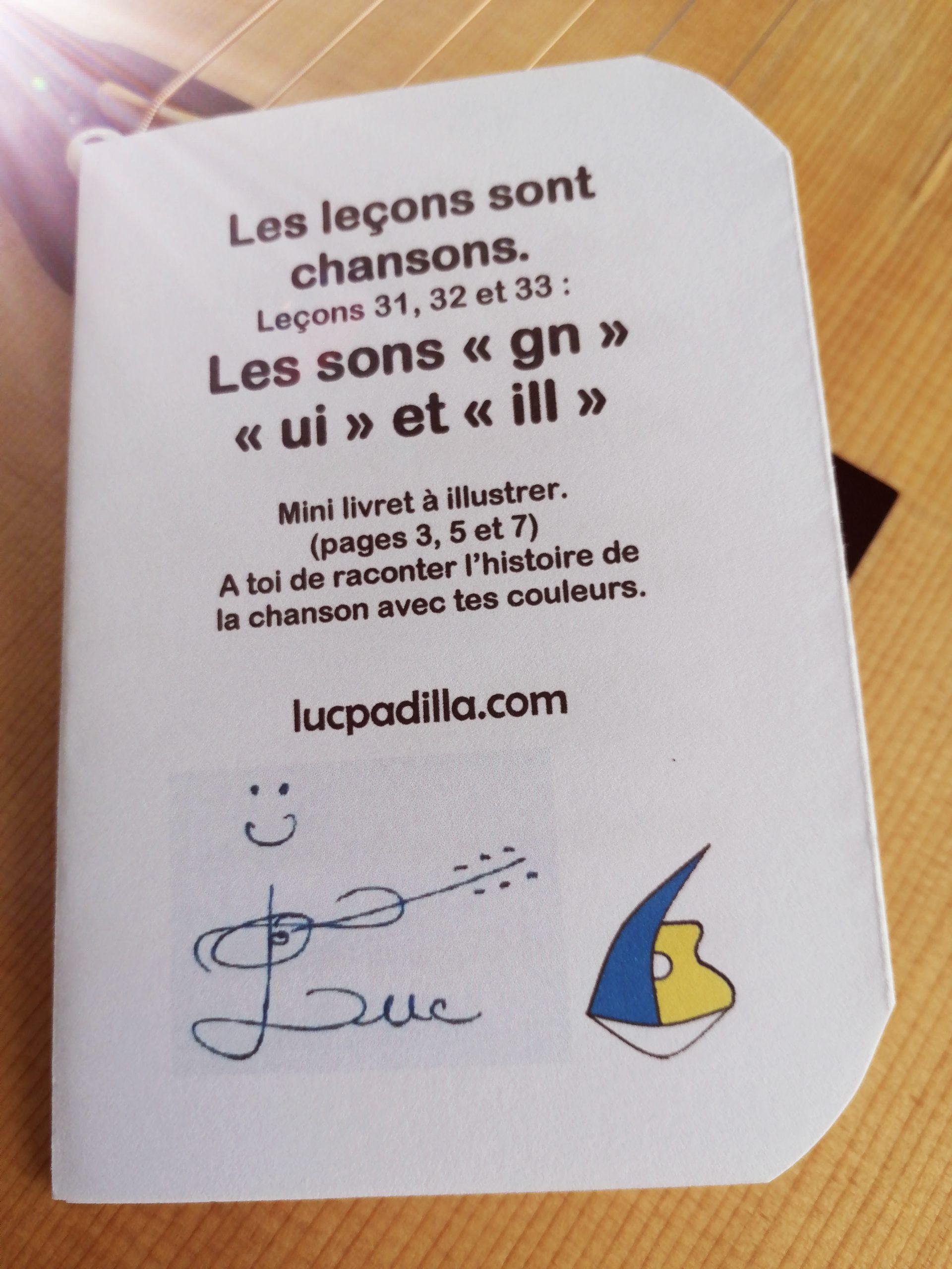 """Leçons 31, 32 et 33 Les sons """"gn"""" """"ui"""" et """"ill"""""""